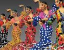 Toreros y Flamencas. Barcino