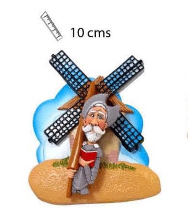 Aimant de Don Quijote en 3D