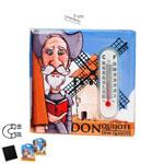 Aimant thermomètre Don Quichotte de la Manche 2.480€ #5005807034