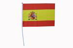 Club flag of the Spanish flag. Pack of 24 units. 42 x 31 cm 14.90€ #50034BANDERIN