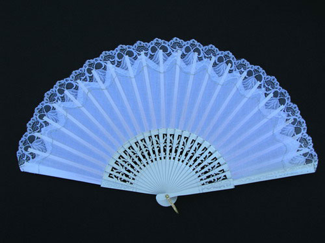 Wedding fans ref. 55578BL