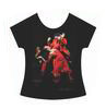 T-shirt Danceuse de Flamenco La Truco. Robe Rouge 18.10€ #50008ROJO