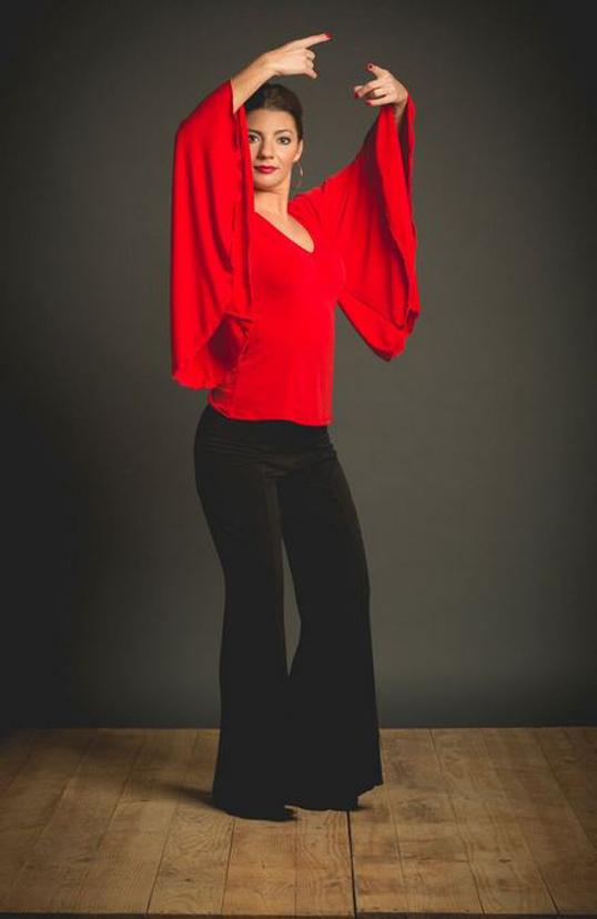 Flamenco Top Geria Model. Davedans