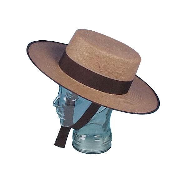 Straw Cordobes Hat