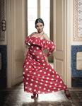 Falda para Baile Flamenco Ageri Rojo. Davedans 78.90€ #504694081RJ