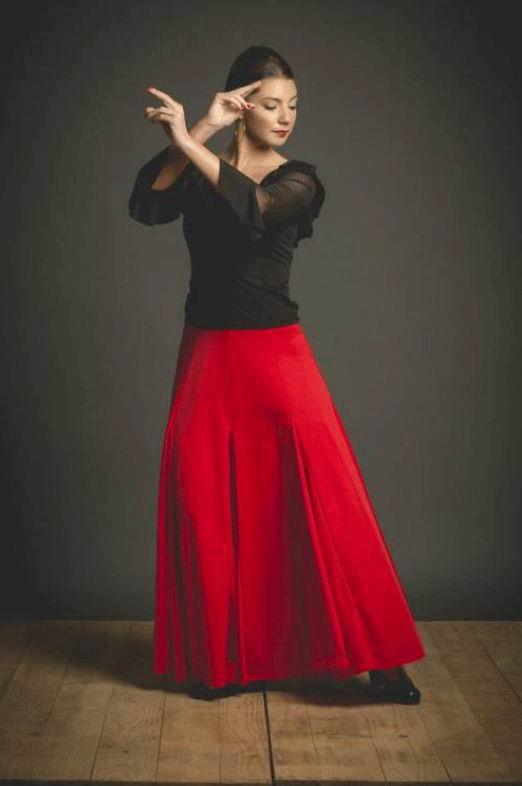 Falda para Baile Modelo Español. Ref. 3006