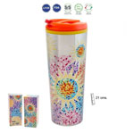 Multicolor travel mug Gaudí souvenir 7.940€ #50058020216