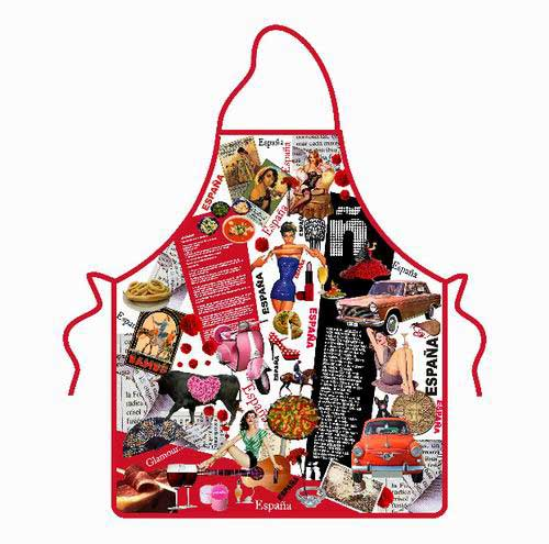 Spanish Backward-Looking Apron