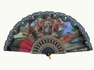 Fan With Flamenco and Bullfight Scenes ref. 2785 3.25€ #501022785
