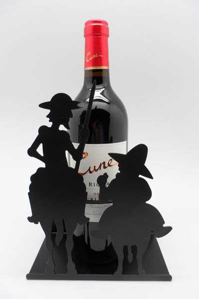 Botellero Don Quijote y Sancho Panza