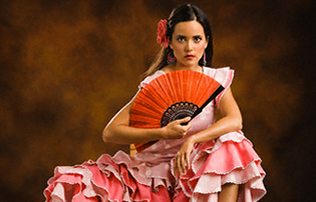 Robes pour la danse flamenco