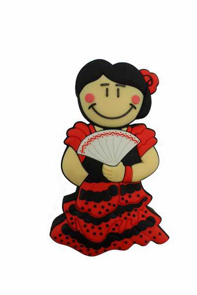 Clé USB Flamenca. Mémoire Flash 8 Gb