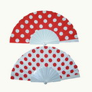 Flamenco fan with polka dots 3.50€ #501020014