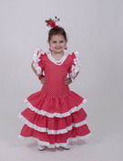Flamenco Dress for Girl- Model: Eco feston 39.90€ #502150003
