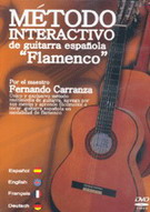 Spanish Flamenco guitar interactive method. DVD. PAL