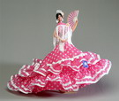 Flamenca doll mod. María de la O - 42cm