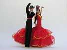 Flamenco Couple 21cm
