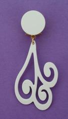 Acetate Earrings ref. 25020