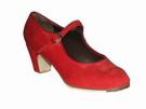 Gallardo - Flamenco Dance Shoes: model Mercedes Shoes in Suede