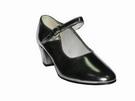 Silver Flamenco Dance Shoes