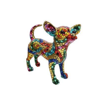 Figurine Chihuahua Collection Carnival. Gaudi. 13cm