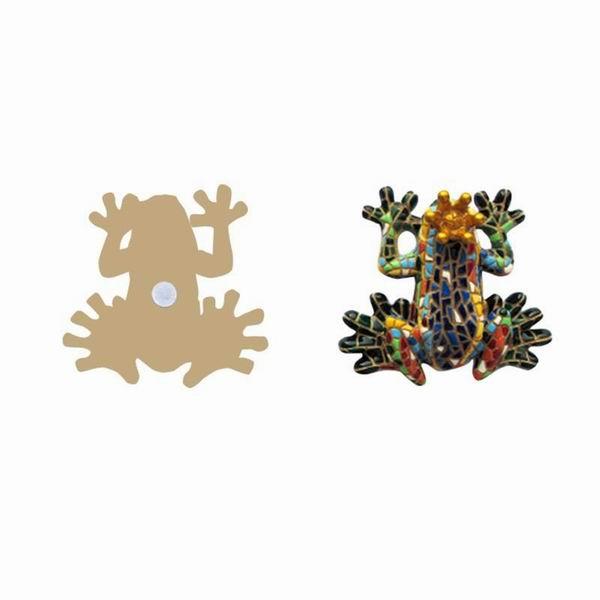 Frog Queen Magnet. Barcino. 6cm