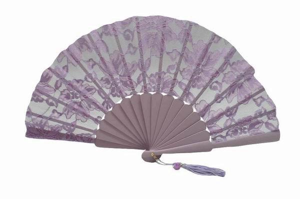Lilac Lace Ceremony Fan ref. 1385
