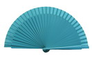 Plain blue fan for kids 3.50€ #50032Y600TRQ