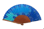 Hand painted Silk Fan – 43IZ 38.00€ #5000700043IZ