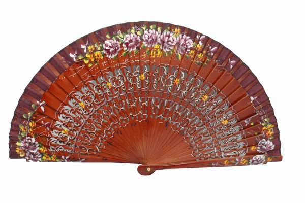 Fans with floral decoration. Ref.23