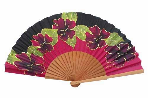 Hand painted Silk Fan – MA43
