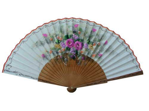Painted Fan For Flamenco Dance ref. 57