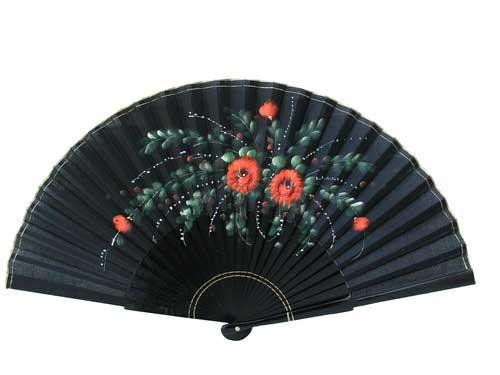 Painted Fan For Flamenco Dance ref. N910