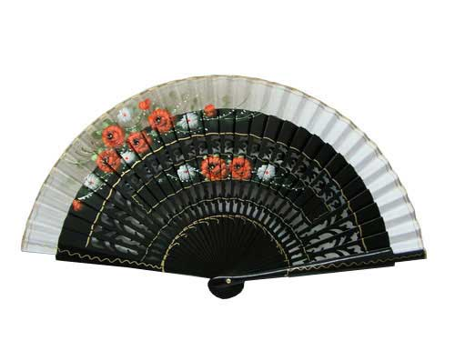 Hand painted fan ref. N117