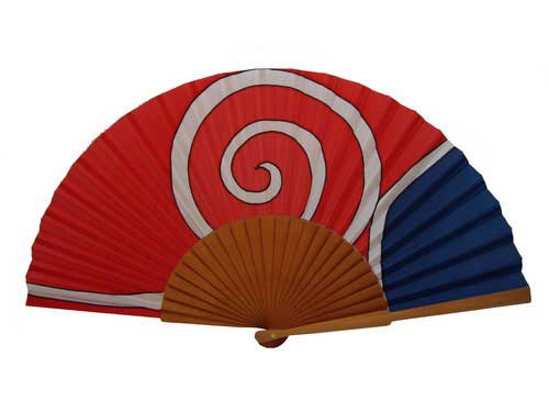 Hand painted Silk Fan - A33