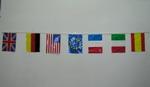 万国旗 (10mの長紐に14旗×5本) 12.55€ #501400008