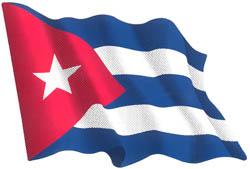 ステッカー 国旗シリーズ キューバ