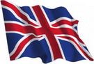 Great Britain flag sticker 1.30€ #508544740