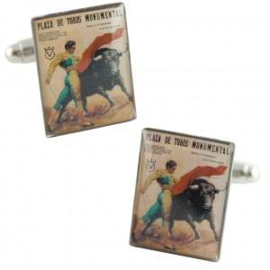 Cufflinks Bull Ring Plaza de Toros Monumental