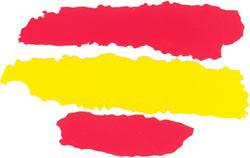 Spanish flag. Sticker