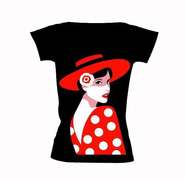 Camiseta Flamenca Carmen