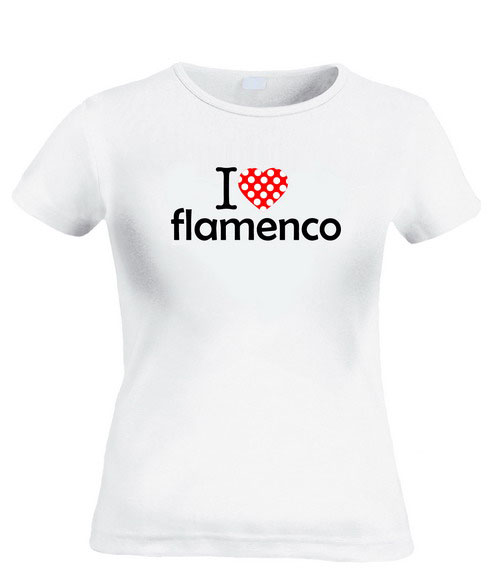 T-shirts I Love Flamenco