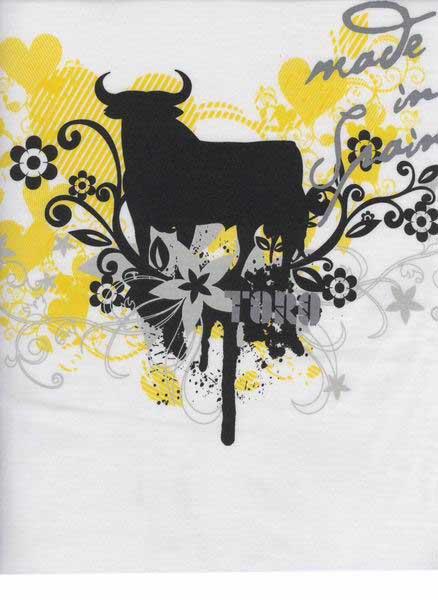 Camiseta Toro Osborne Nature Blanca para Mujer