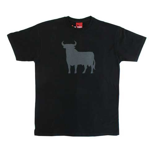 Black T-shirt with the Osborne Bull.