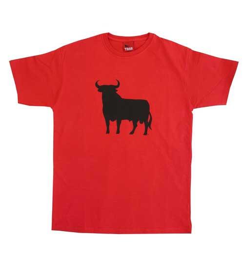 Red Osborne Bull t-shirt