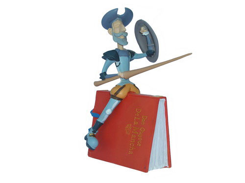 Don Quichotte. Figurine 19 X 14 cm