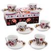 Service à café. 6 petites tasses flamenco 20.80€ #500580010738