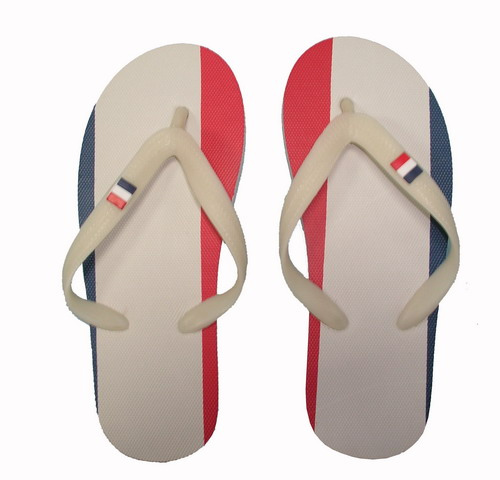 France flag slippers