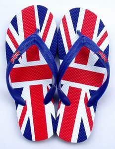 Tongues drapeau anglais