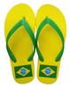 ビーチサンダル ブラジル国旗柄 18.00€ #505760029